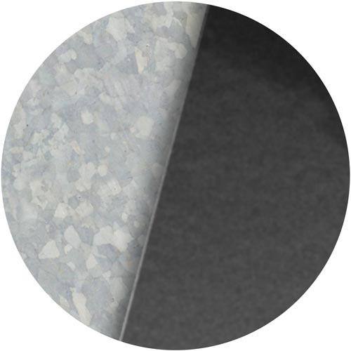Liegeland Stahl verzinkt oder pulverbeschichtet